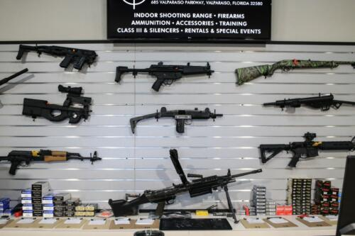 Gun Rental Counter